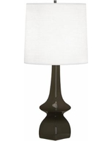 Robert Abbey Jasmine Brown Tea Ceramic Table Lamp