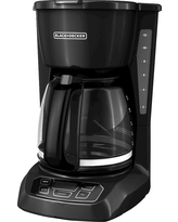 Black+decker 12 Cup Automatic Drip Coffee Maker - Black