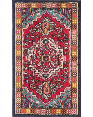 Cant Miss Bargains On Safavieh Monaco Redturquoise 2 Ft 3 In X 3