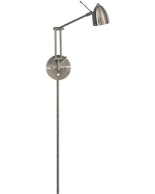 George Kovacs 1-Light Reading Wall Sconce with Metal Shade