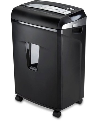 Aurora JamFree AU1235XA 12-Sheet Cross-Cut Paper/Credit Card Shredder with Pull-Out Wastebasket