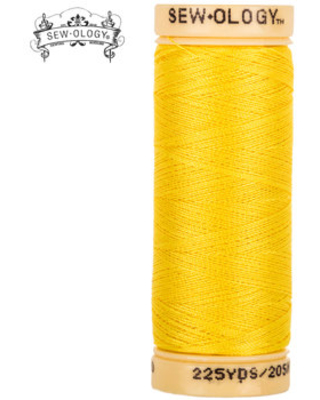 Yellow All-Purpose Cotton Thread