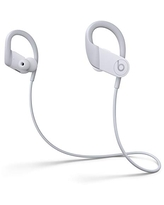 Powerbeats High-Performance Wireless Earbuds - Apple H1 Headphone Chip, Class 1 Bluetooth Headphones, 15 Hours of Listening Time, Sweat Resistant, Built-in Microphone - White