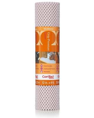 Con-Tact Grip Premium 12 in. x 4 ft. Wishbone Non-Adhesive Thick Grip Drawer and Shelf Liner (6-Rolls)