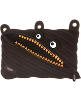 Zipit Grillz 3 Ring Pouch - Black
