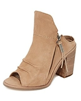 Dolce Vita Women's Lennox Ankle Bootie, Light Taupe, 6 M US