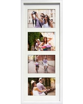 """Thin White Collage Frame - Holds Four 5""""x7"""" Photos - Room Essentials"""