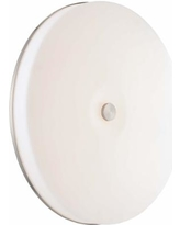 """George Kovacs Uho 15"""" Wide Nickel Wall Sconce Ceiling Light"""