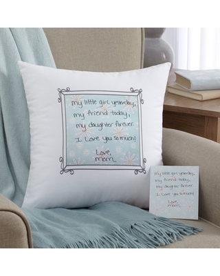 Personalized In Your Own Words Throw Pillow