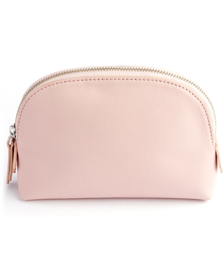 Royce Compact Cosmetics Bag, Size One Size - Light Pink