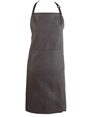 DII Everyday Basic Kitchen Collection, Chef Apron, Mineral Gray,5136