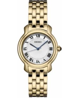 Seiko Women's Essential Stainless Steel Watch - SRZ520, Size: Small, Gold