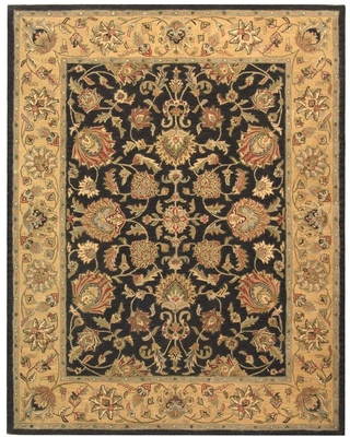Safavieh Heritage Charcoal/Gold 8 ft. x 10 ft. Area Rug