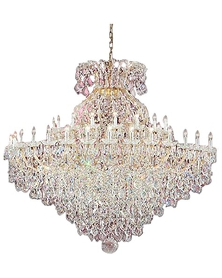 """Classic Lighting 8188 OWG C Maria Theresa, Crystal Traditional, Chandelier, 74"""" x 74"""" x 74"""", Olde World Gold"""