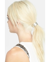 L. Erickson Cuff Ponytail Holder, Size One Size - Metallic