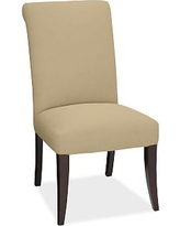 PB Comfort Roll Arm Upholstered Dining Side Chair, Performance Everydaysuede(TM) Oat