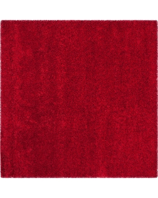"""Quincy Rug - Red (6'7""""X6'7"""") - Safavieh"""