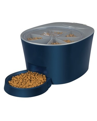 PetSafe Automatic 6 Meal Pet Feeder - Cat and Dog Food Dispenser - Great for Cats and Small Dogs