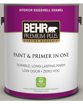 BEHR Premium Plus 1 gal. #PPU25-07 Arid Plains Eggshell Enamel Low Odor Interior Paint and Primer in One