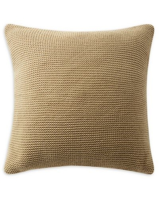 Highline Bedding Co. Samara Knitted Square Throw Pillow in Neutral