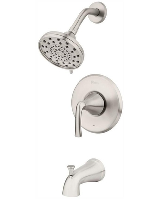 Pfister Ladera Single-Handle 3-Spray Tub and Shower Faucet in Spot Brushed Nicke