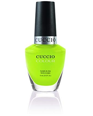 Cuccio Colour Nail Polish - Wow The World - Nail Lacquer for Manicures & Pedicures, Full Coverage - Quick Drying, Long Lasting, High Shine - Cruelty, Gluten, Formaldehyde & 10 Free - 0.43 oz