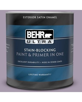 BEHR ULTRA 1 qt. #PPU16-12 Charm Satin Enamel Exterior Paint and Primer in One