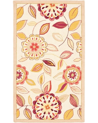 Safavieh Chelsea Ivory/Taupe (Ivory/Brown) 3 ft. x 5 ft. Area Rug
