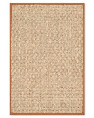 Safavieh Natural Fiber Johanna 2-Foot 6-Inch x 4-Foot Accent Rug in Natural/Brown