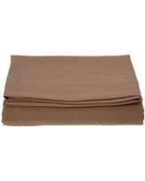 Elegant Comfort Luxury Flat Sheet on Amazon Wrinkle-Free 1500 Thread Count Egyptian Quality 1-Piece Flat Sheet, Twin/Twin XL Size, Taupe