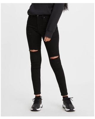 Levi's Women's 720 High-Rise Super Skinny Jeans - Close To The Edge 27