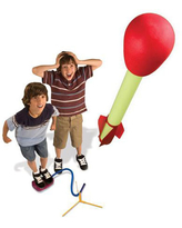 Ultra Stomp Rocket LED - Kites, Planes & Rockets for Ages 8 to 12 - Fat Brain Toys