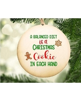 Funny Ornament Christmas Cookie