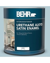 Check Out Deals On Behr 1 Gal 530e 3 Sonata Urethane Alkyd Satin Enamel Interior Exterior Paint