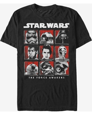 Star Wars Episode VII The Force Awakens Cast T-Shirt