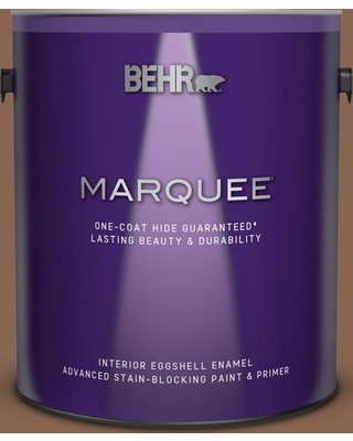BEHR MARQUEE 1 gal. #PPU3-17 Clay Pot Eggshell Enamel Interior Paint and Primer in One