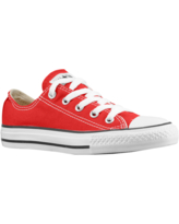 Converse Boys Converse All Star Low Top - Boys' Preschool Basketball Shoes Red/Red Size 11.0