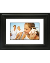 Polaroid Digital Photo Frame 7 Screen - Black with Mat