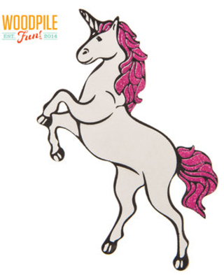 Summer Sales are Here! Get this Deal on Unicorn Painted Wood