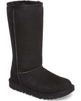 Toddler Ugg Classic Ii Water-Resistant Tall Boot, Size 1 M - Black