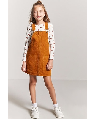 679575fae4c Amazing Deal on Girls Corduroy Overall Dress (Kids)