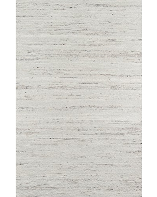 Erin Gates by Momeni Richmond Collins Ivory Hand Woven Wool Area Rug 5' X 7'