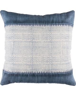 Artistic Weavers Tajo Navy Graphic Polyester 3In. x 3In. Throw Pillow, Blue