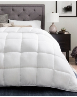 Brookside Down Alternative Quilted Comforter with Duvet Tabs, Full/Queen