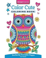 Color Cute Coloring Book : Perfectly Portable Pages