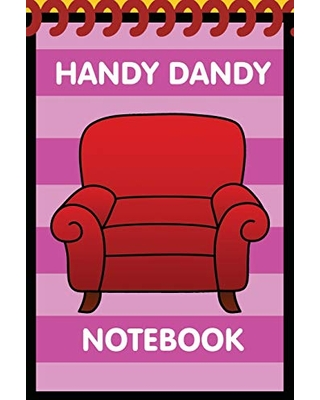 Handy Dandy Notebook: Pink Kids little 6x9 inch notebook for drawing and detective clues with 120 sheets