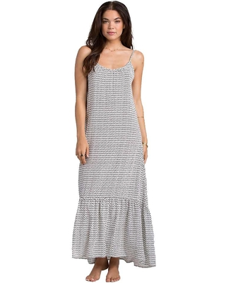 dbf89466c76f Amazing Deals on Billabong Women's Wave Chaser Maxi Dress - Large ...