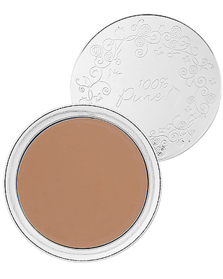 100% Pure Fruit Pigmented Cream Foundation in Toffee.
