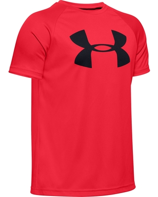 Under Armour Boys' Tech Big Logo T-Shirt, Boy's, Size: XL, Red