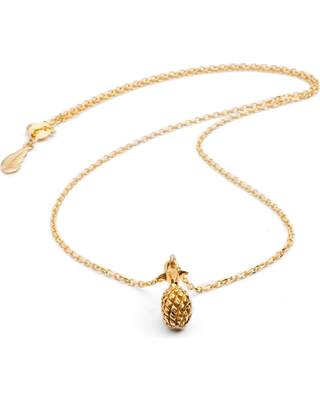 Harry Rocks - Gold Pineapple Necklace